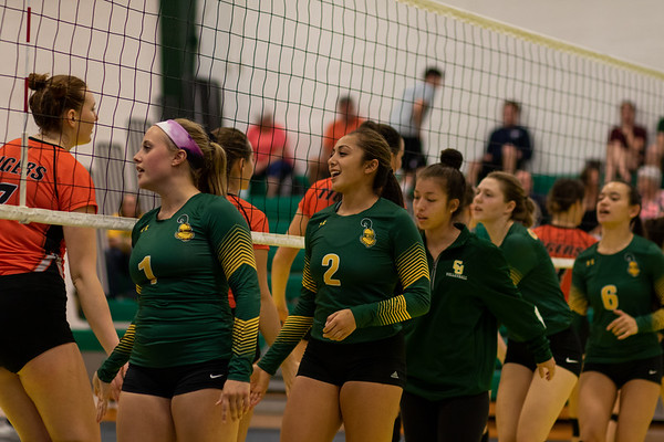 Clarkson Women Volleyball vs. RIT. RIT win 3 to 1.