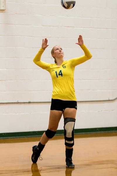 Clarkson Athletics: Women Volleyball vs. St. Lawrence. Clarkson win 3-0