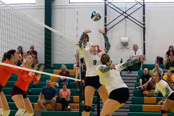 Clarkson Women Volleyball vs. Susquehanna. Clarkson win 3 to 1.