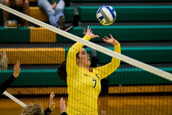 Clarkson Athletics: Women Volleyball vs. Williams College. Clarkson win 3-0
