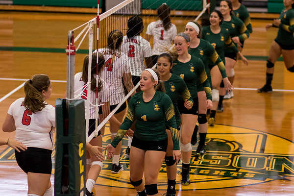 Clarkson Athletics: Women Volleyball vs. SUNY Plattsburgh. Clarkson win
