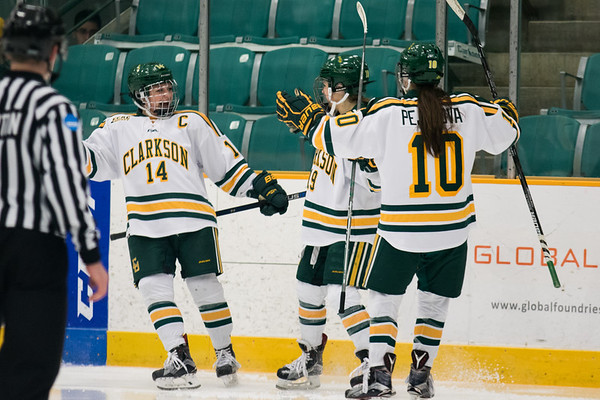 Clarkson Athletics: Women Hockey vs. Princeton. Clarkson win 4 to 0.