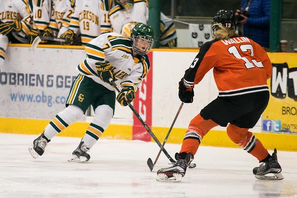 Clarkson Athletics: Women Hockey vs. Princeton. Clarkson win 4 to 0.