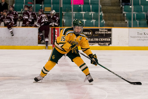 ECAC Women Hockey Final Clarkson Vs. Colgate. Clarkson win 3 to 0.