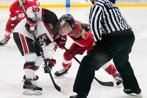 ECAC Women Hockey: St. Lawrence vs. Cornell. Cornell Win 3 to 1.