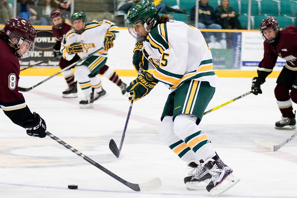 Clarkson Athletics: Women's Hockey vs. Concordia University (exh.) Concordia win 3-2