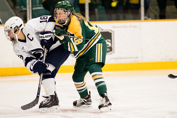 Clarkson Athletics: Women Hockey vs. Penn State. Clarkson win 4-0.