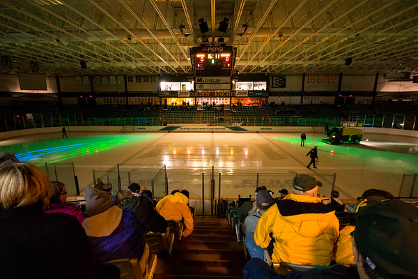 NCAA Women Hockey Quarter finals Clarkson vs. Mercyhurst. Clarkson win 2 to 1 in overtiime