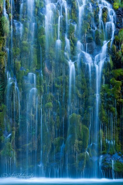 Eternal flow - Mossbrae falls, Mt. Shasta, CA