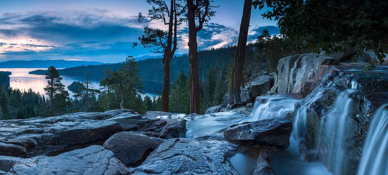 Morning flow - Lake Tahoe, CA