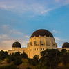 Griffith Observatory Sunset.