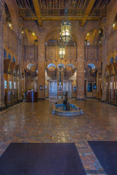 Fine Arts Building Lobby