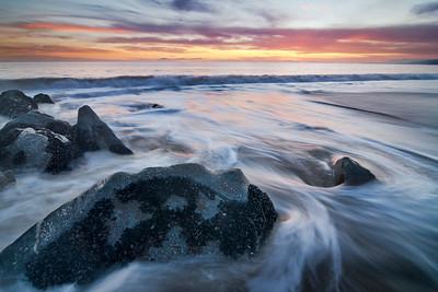 """""""Ichinen-sanzen"""" - Will Rogers State Beach, Malibu, CA"""