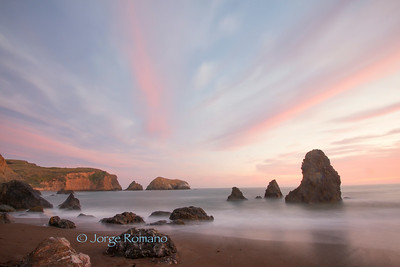 Sunset at Rodeo Beach