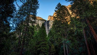 Bridalveil Falls Yosemite