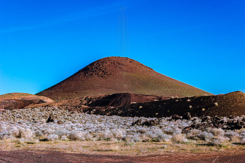 Volcanic Cone at Coso.