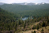 Hume Lake - formed in 1908 as part of a lumber operation in the Sierra Nevada Mountains - Sequoia National Forest - California.