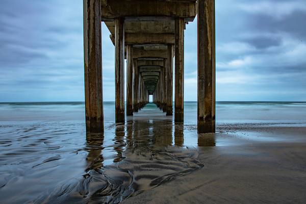 Scripps Pier at Dawn