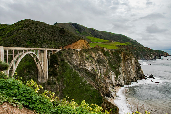 Bixby Bridge, Ca.