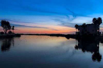 Pismo Creek Sunset