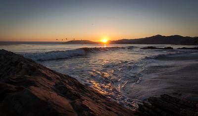 Shell Beach Sunset