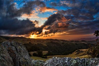 Prefumo Canyon Sunset