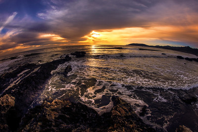Fisheye Sunset