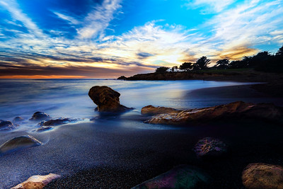 Moonstone Beach Sunset