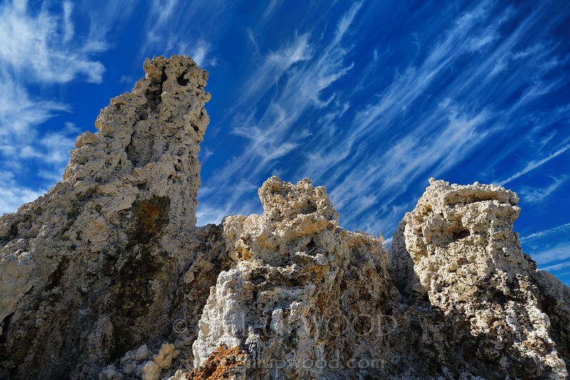 Clouds and Rock Formation