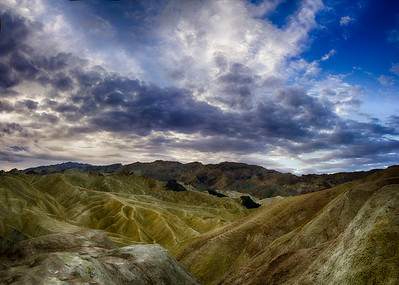 Morning at Zabriskie Point