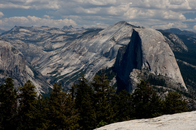 Half-Dome from Sentinel Dome<br /> Yosemite National Park