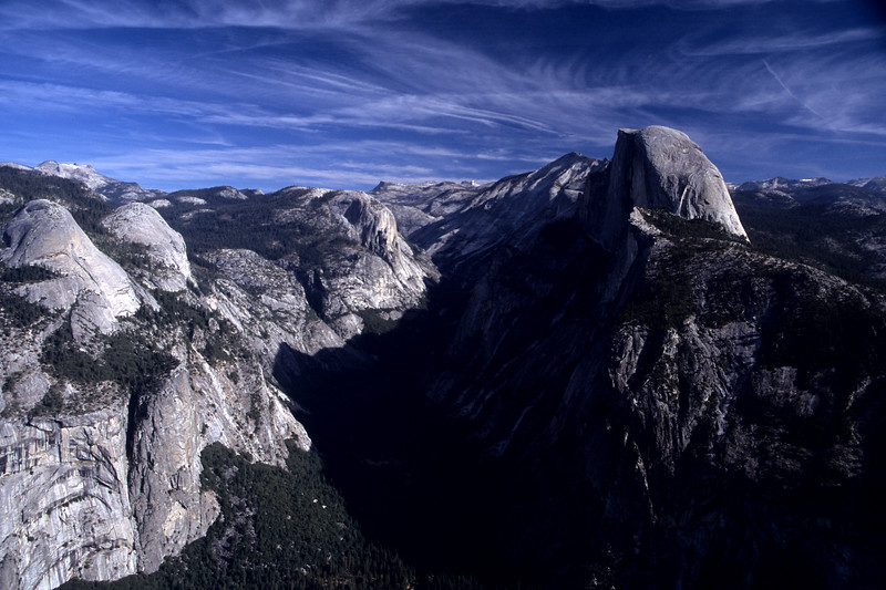 Half-Dome from Glacier Point<br /> Yosemite National Park