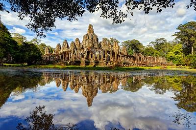 The Bayon Reflections, Siem Reap, Cambodia