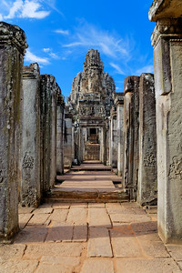 The Bayon, Entering, Siem Reap, Cambodia (2)