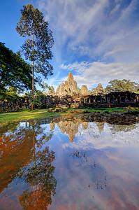 The Bayon Reflections 3, Siem Reap, Cambodia