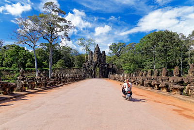 Angkor Thom South Gate, Siem Reap, Cambodia