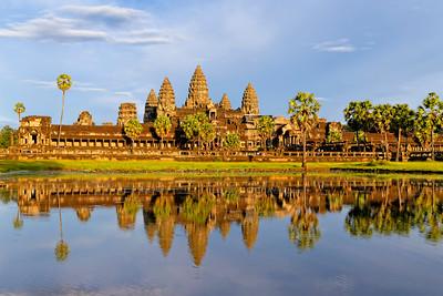 Angkor Wat Late Afternoon 1, Siem Reap, Cambodia
