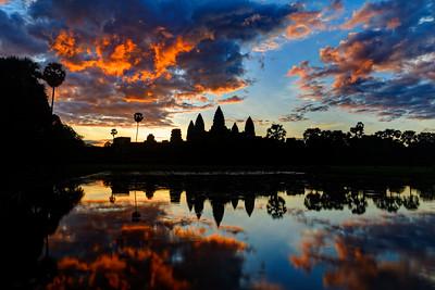 Angkor Wat Sunrise 1, Siem Reap, Cambodia