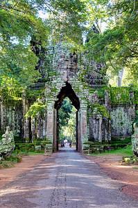Angkor Thom North Gate, Siem Reap, Cambodia