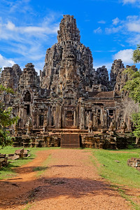 The Bayon, Entering, Siem Reap, Cambodia (1)