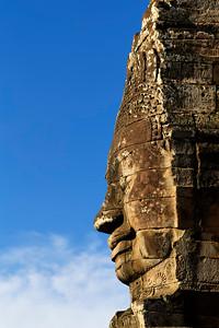Stone Face, The Bayon