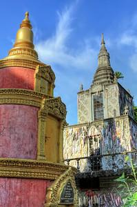Wat Lanka, Phnom Penh, Cambodia
