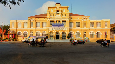 Phnom Penh Central Post Office, Cambodia