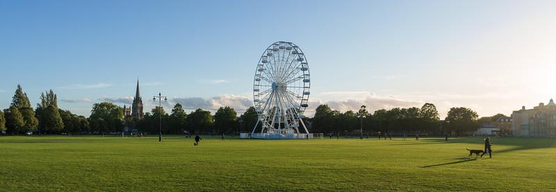 City View Wheel, Parker's Piece, Cambridge (Sep 2021)