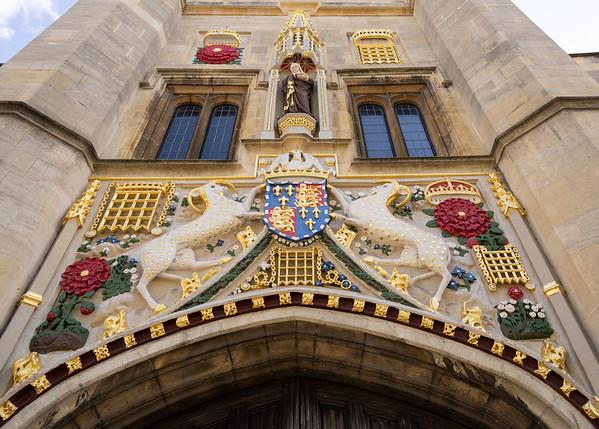 Entrance to Christ's College, Cambridge