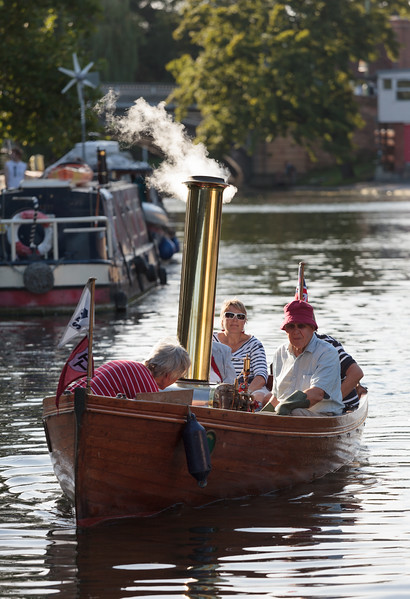 Steam Boat on the River Cam
