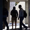 "Students walk to class at the Gruening Building from the Eielson building on an early september morning.  <div class=""ss-paypal-button"">Filename: CAM-12-3550-15.jpg</div><div class=""ss-paypal-button-end"" style=""""></div>"