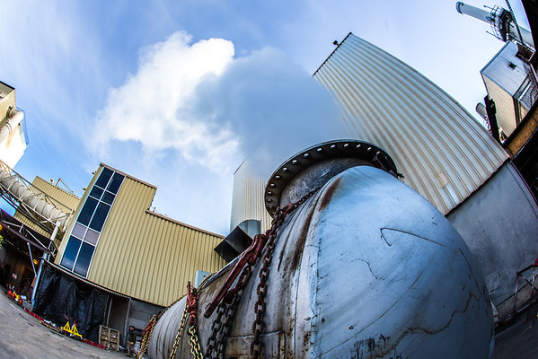 """High pressure steam is released from a tank near UAF's power plant in the Atkinson Building on the Fairbanks campus.  <div class=""""ss-paypal-button"""">Filename: CAM-12-3542-20.jpg</div><div class=""""ss-paypal-button-end"""" style=""""""""></div>"""