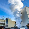 "High pressure steam is released from a tank near UAF's power plant in the Atkinson Building on the Fairbanks campus.  <div class=""ss-paypal-button"">Filename: CAM-12-3542-47.jpg</div><div class=""ss-paypal-button-end"" style=""""></div>"