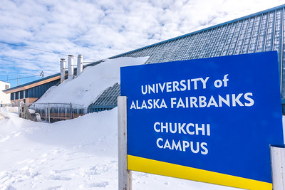 The home of UAF's Chukchi Campus in Kotzebue.  Filename: CAM-16-4863-487.jpg